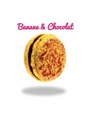 Macaron Banane & Chocolat