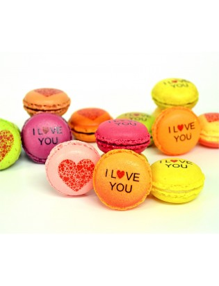 i love you - planet macarons