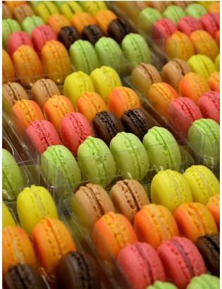 coffret rose 16 macarons