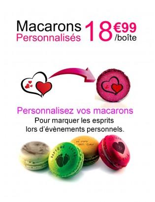 personnalisation macarons