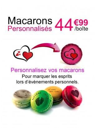 personnalisation - planet macarons