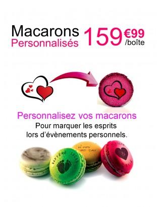 personnalisation pyramide 84 macarons