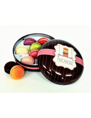 Coffret 8 macarons CHIC BOX