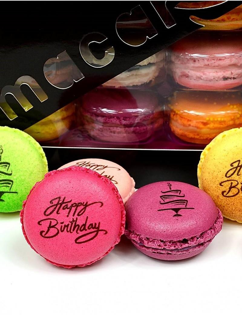macaron Happy birthday