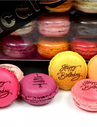 macarons Happy birthday