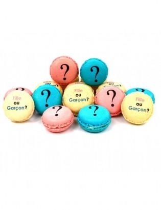 coffret 16 macarons : Baby