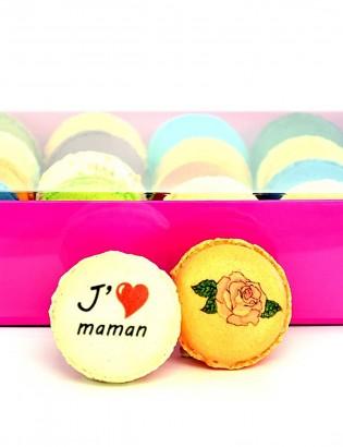 macarons je t'aime maman
