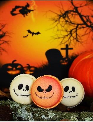 halloween monster - planet macarons