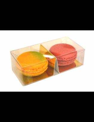 Boîte 2 macarons classiques