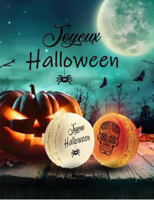 macaron halloween