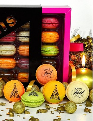 joyeux noel - planet macarons