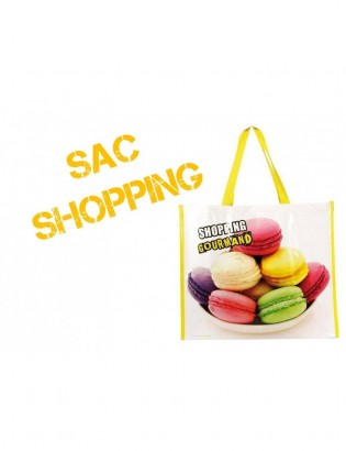 "Sac ""SHOPPING GOURMAND"""