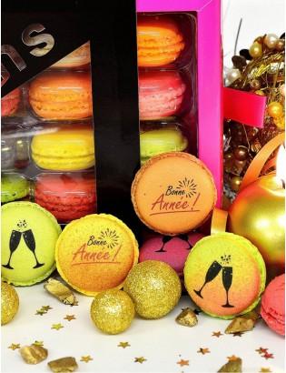 bonne année - planet macarons
