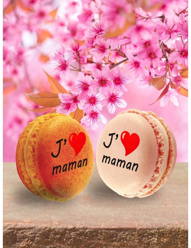macaron j'aime maman