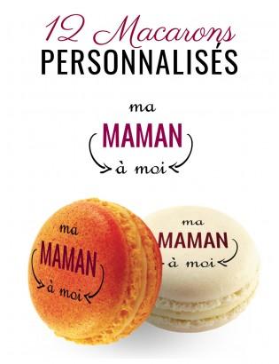 macarons personnalisés pour maman
