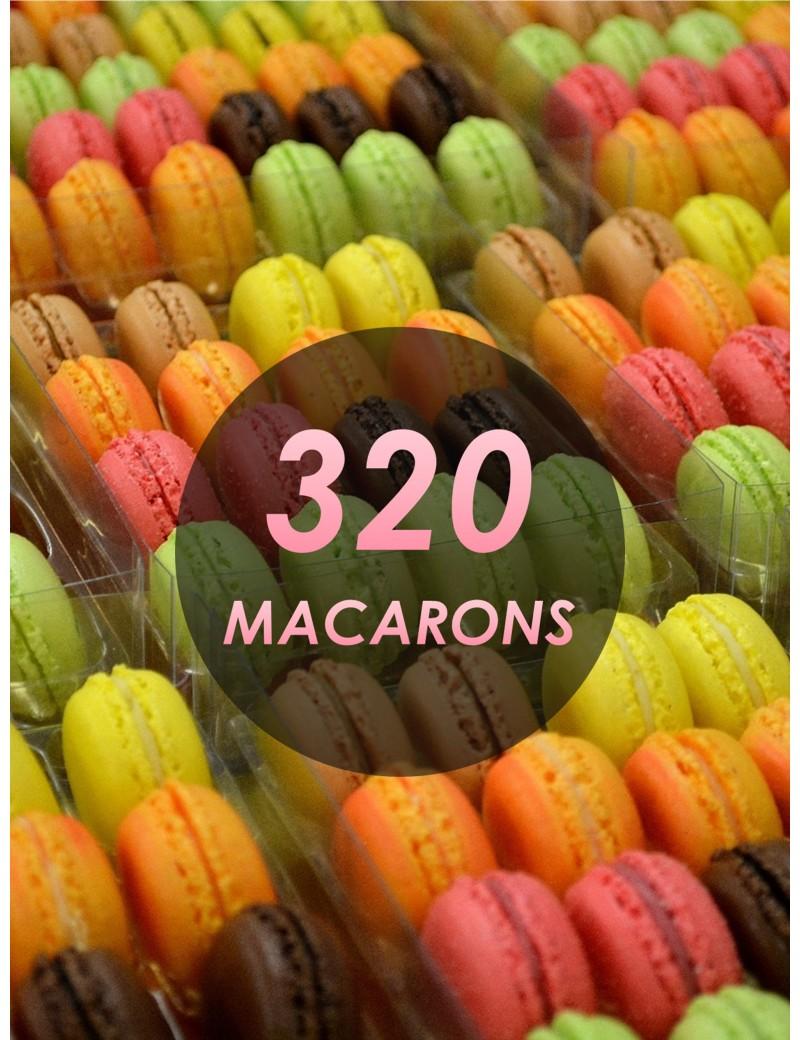 320 macarons - planet macarons - macaron