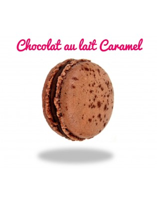 macarons chocolat au lait caramel