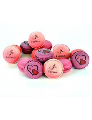 25 macarons romantiques