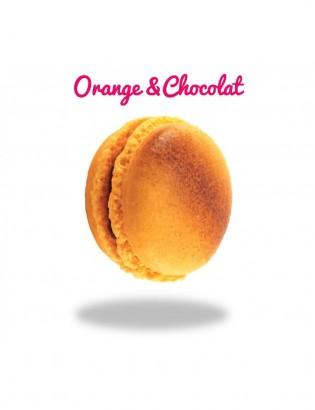 Macaron Orange & Chocolat