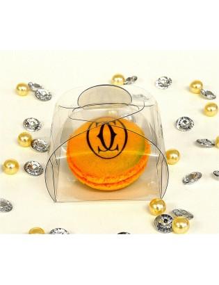 boîtes transparentes - planet macarons