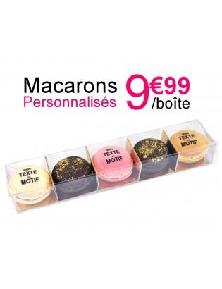 boite 5 macarons - planet macarons