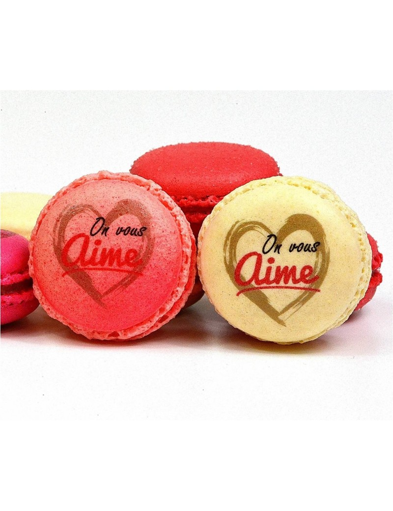 on vous aime - planet macarons