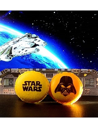 star wars - planet macarons