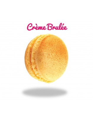 macaron crème brulée - planet macarons