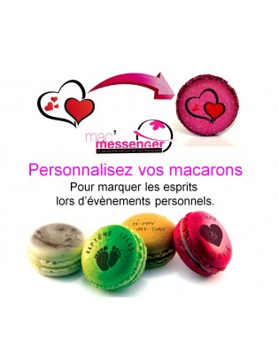 macarons personnalisés - planet macarons