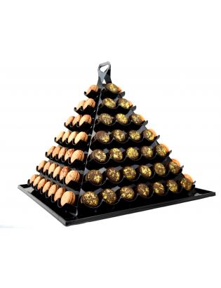 pyramide de 112 macarons personnalisés