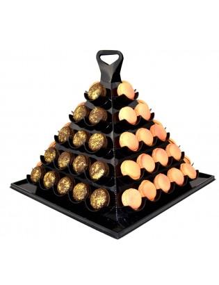 pyramide 60 macarons personnalisés