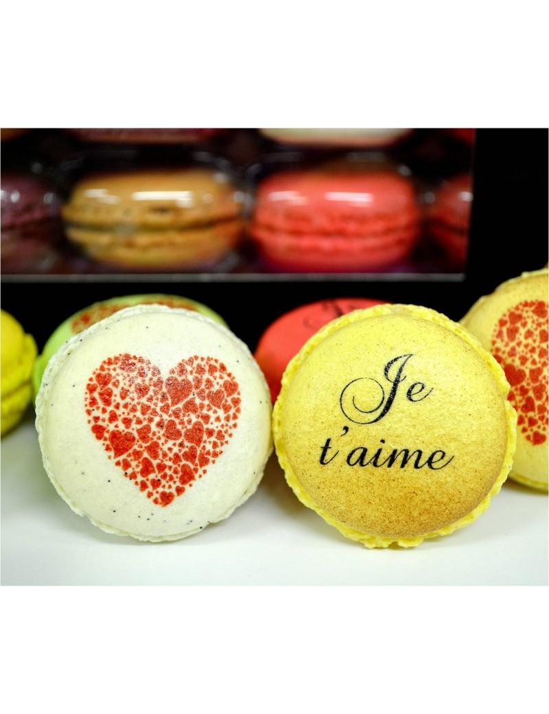 je t'aime - macarons