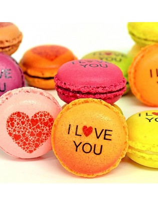 i love you - planet macarons