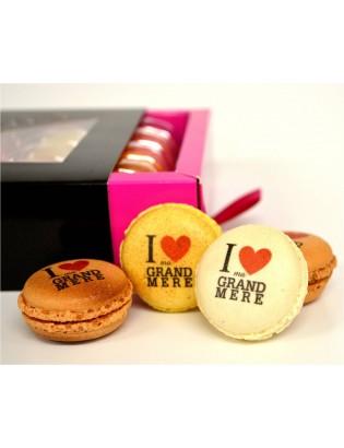 25 macarons : I love ma...