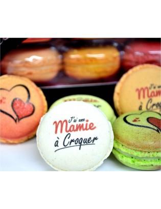 cadeau mamie - macarons - planet macarons