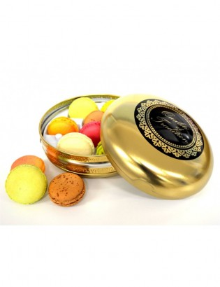 box gold - planet macarons
