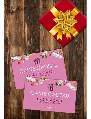 carte cadeau 150€ - planet macarons