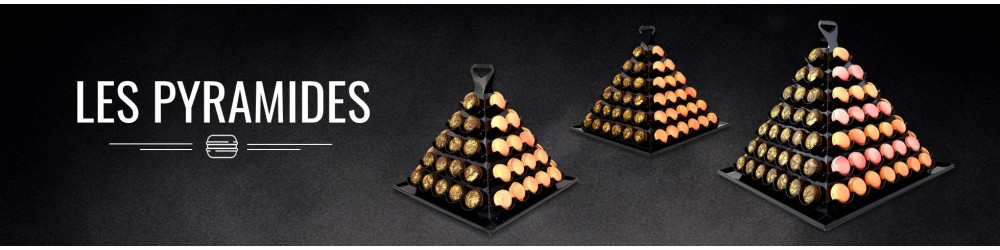 Pyramide macaron personnalisé - Pyramide macaron mariage
