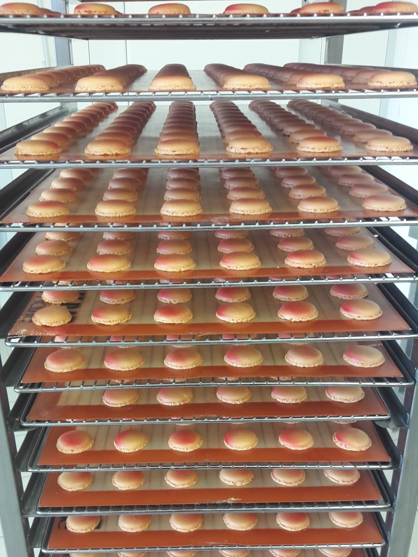 echelle de macarons
