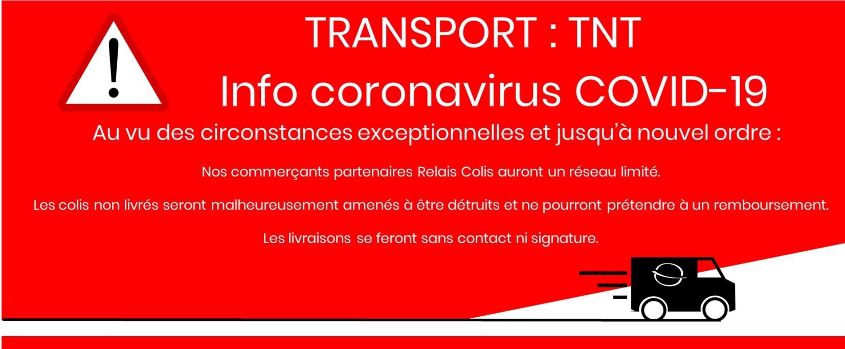 Attention TNT relais colis