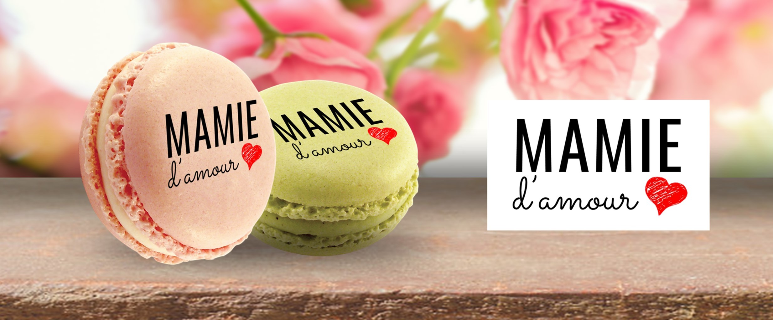 macarons mamie d'amour